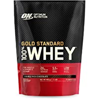 Optimal Nutrition ON Gold Standard Whey Proteinpulver, Double Rich Chocolate, 14 portioner, 450 g