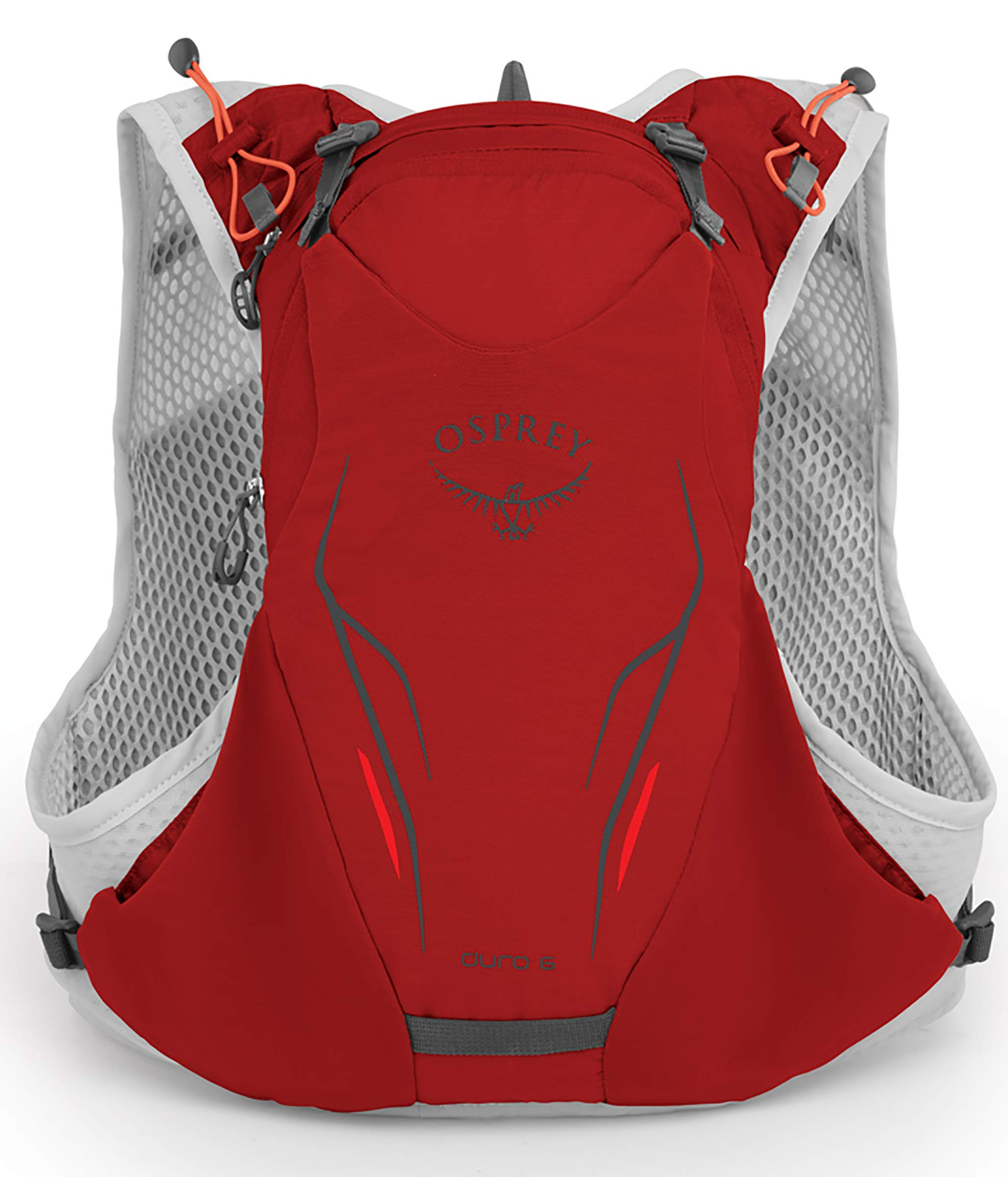 Osprey Packs Duro 6 Running Hydration Vest, Phoenix Red, Small/Medium by Osprey (Image #2)