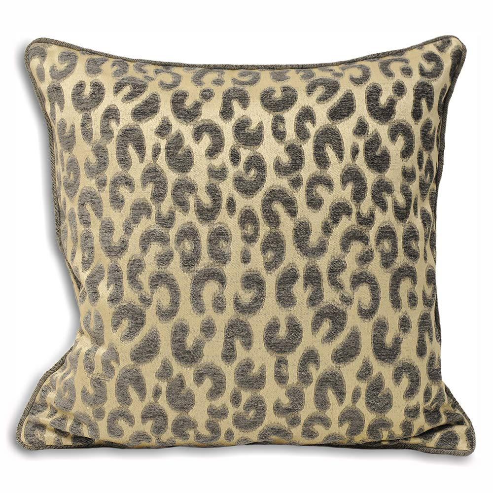 Paoletti Mahiki Embellished Leopardo Funda para cojín ...