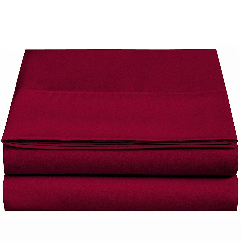 (Full, Pink) - Flat sheet-Ultra soft & Confortable Microfiber-Pink,Full B01CXM1W5Y フル|ピンク ピンク フル