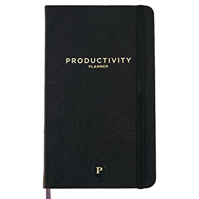 Productivity Planner - Daily Planner - Non Dated 5 x 8' - Accomplish your 2018 Goals