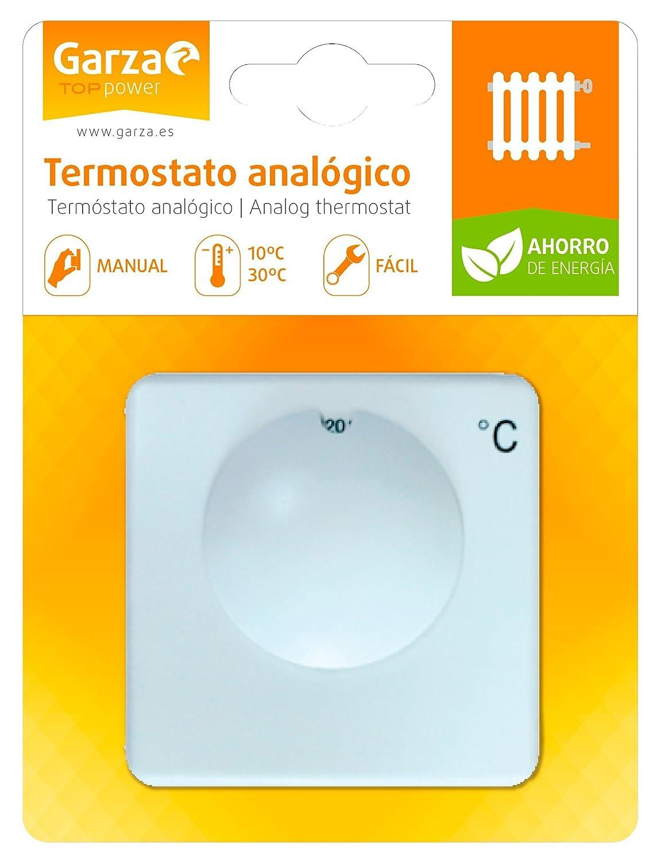 Garza 400611 Termostato, Blanco