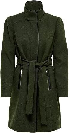 Only Onlmichigan Wool Coat Otw Abrigo de mezcla de lana para Mujer