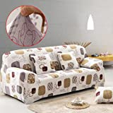 Sofa Covers 2 Seater Sofa Slipcover Stretch Elastic Pet Dog Couch Protector Easy Fit Lattice