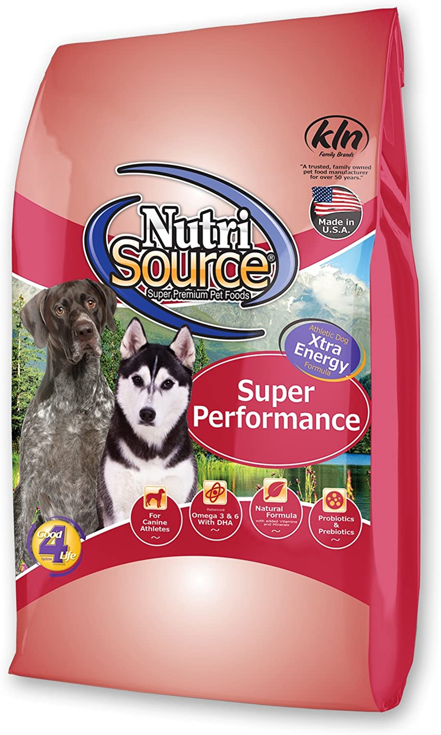 Tuffy'S Pet Food 131529 Nutrisource Super Performance Dry Food For Dogs, 40-Pound