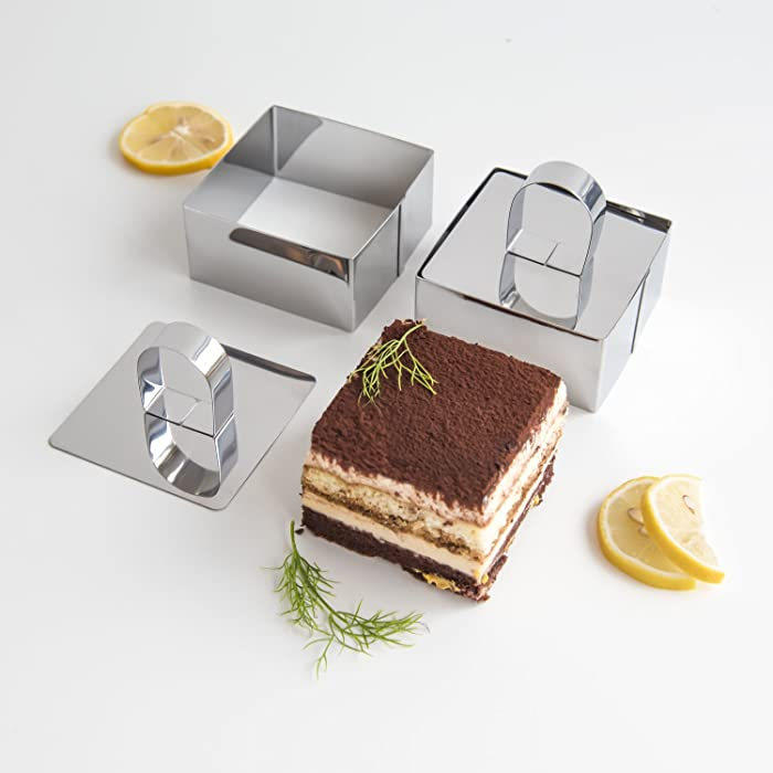 The Best Food Plating Square Mold