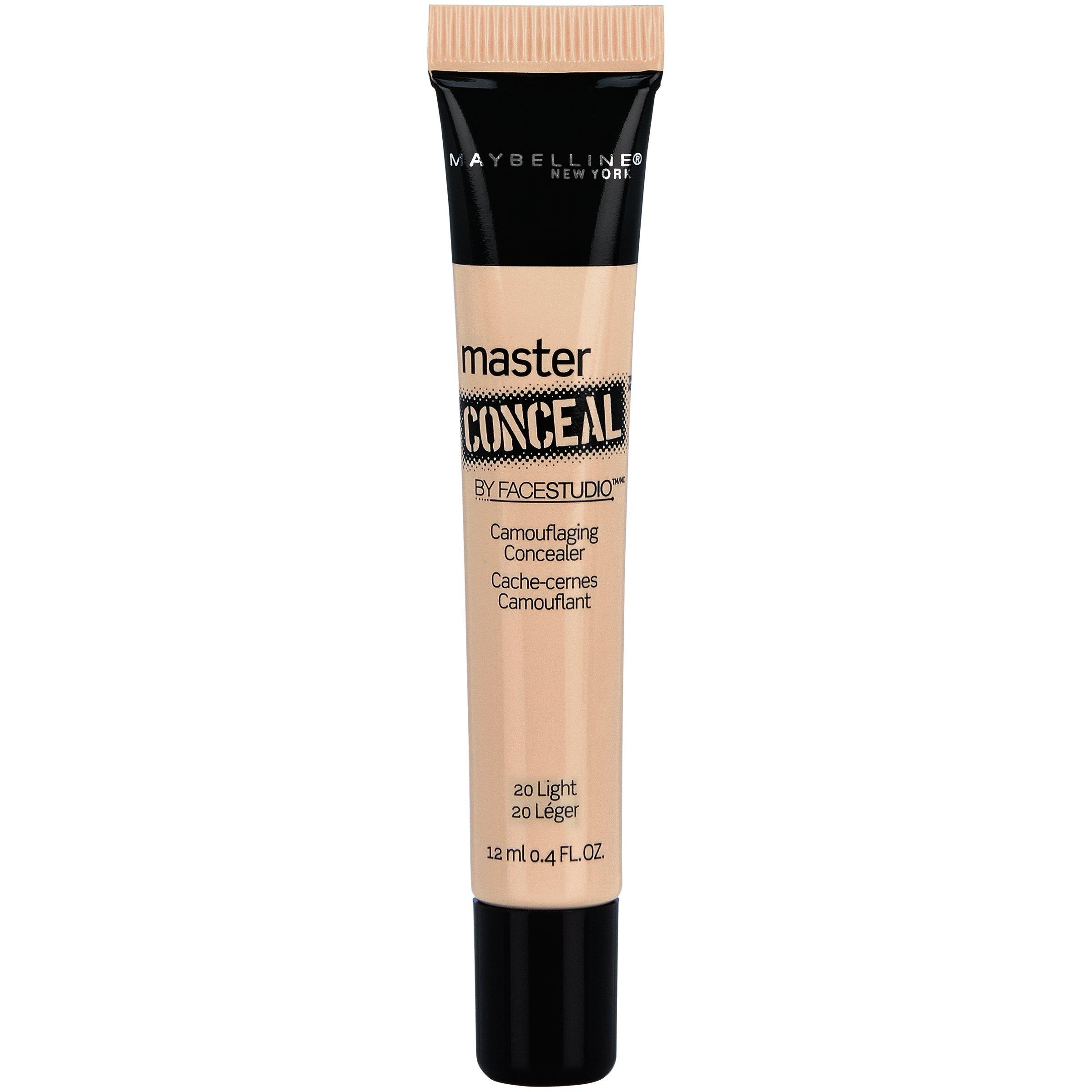 Maybelline New York Facestudio Master Conceal Makeup, Light, 0.4 fl. oz.