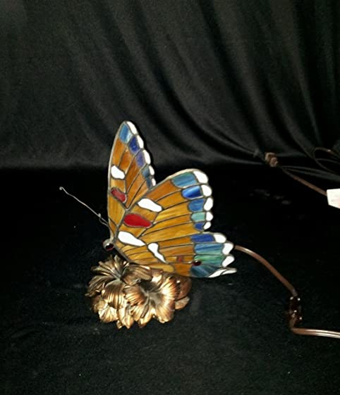 Hampton Bay Tiffany Style Butterfly Lamp