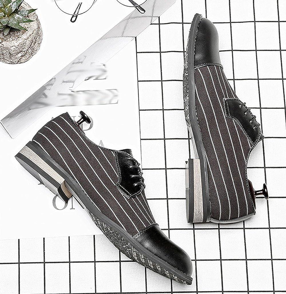 Herren Lace Up Derby Mode Schuhe Casual Dress Schuhe Mode Derby schwarz e55971