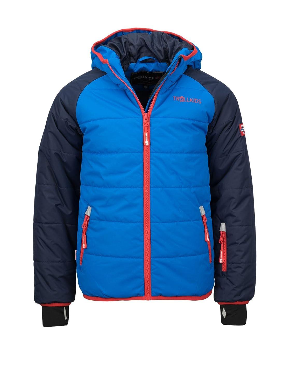 Bleu Clair Bleu Marine 6 ans (116 cm) TrollEnfants Hafjell Veste de ski pour enfant
