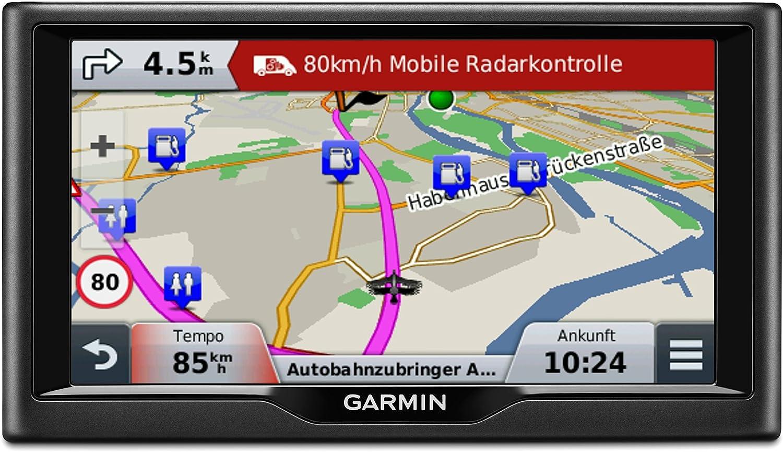 lebenslange Kartenupdates Touchscreen 5 Zoll Premium Verkehrsfunklizenz 12,7cm Garmin n/üvi 58LMT Navigationsger/ät Europa Karte