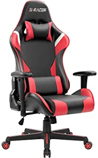Amazon.com: Homall T-OCRC83DB4 Gaming Chair High Back ...