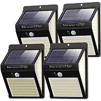 Litogo Solarlampen voor buiten, met bewegingsmelder, 140 leds, led-zonnelampen, zonnelicht, waterdichte wandlamp, 3 modi…