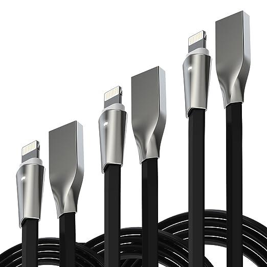 1 opinioni per Cavo Iphone Lightning, Aimus Cavo Caricatore su USB con indicatore LED per