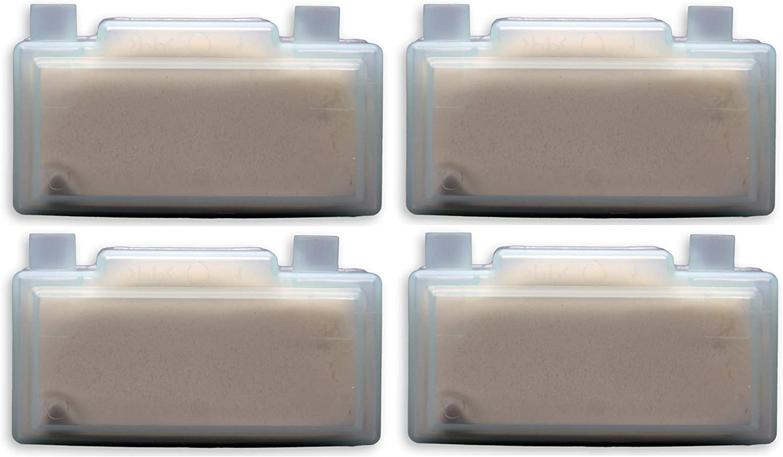 4 pcs quigg anti-cal-cartucho/SB-anti-cal-cartucho para planchas de vapor quigg 2200 DBS, DBS 2400 y DBS 3000 y Condel DBS700 (no compatible con quigg DBS 700!)