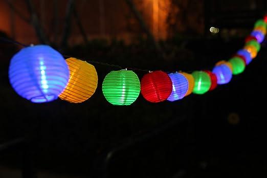 2 opinioni per Uping, Stringa di luci, Catena Luminosa, Luminarie Solari, Corolato, 20 LED, 20