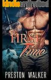 First Time: A Wolf Shifter Mpreg Romance (Pure Omega Love Book 1)