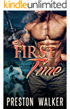 First Time: A Wolf Shifter Mpreg Romance (Pure Omega Love Book 1)