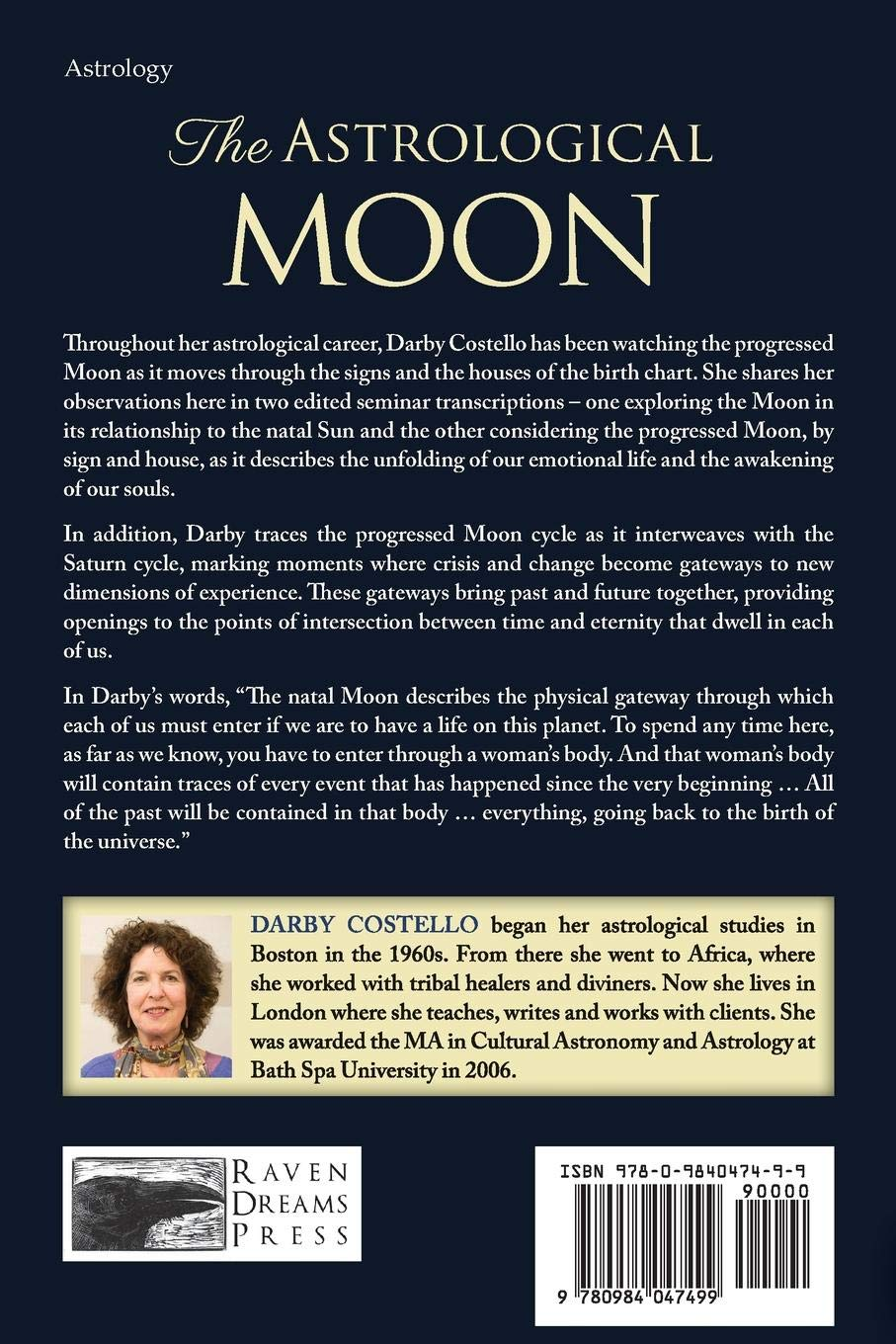 Amazon com: The Astrological Moon (9780984047499): Darby