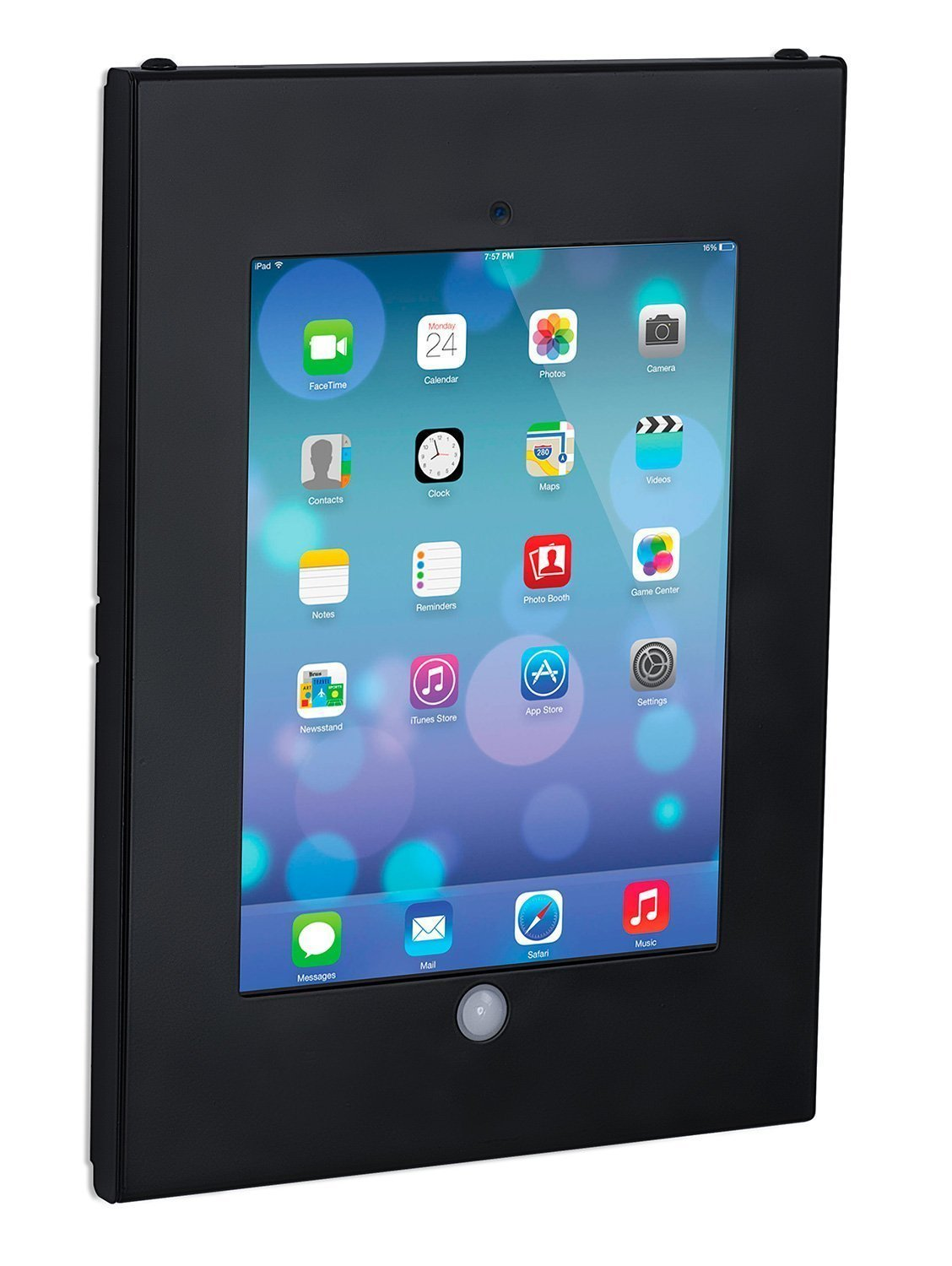 Mount-It! Tablet Wall Mount with Anti-Theft Locking Function, Fits iPad, 2, 3, 4, Air, Air 2, iPad Pro 9.7, or Other 9.7 Inch Tablets, Black