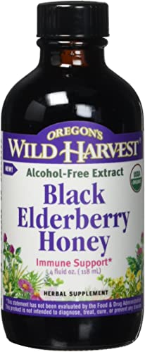 Oregon's Wild Harvest Black Elderberry Honey Organic