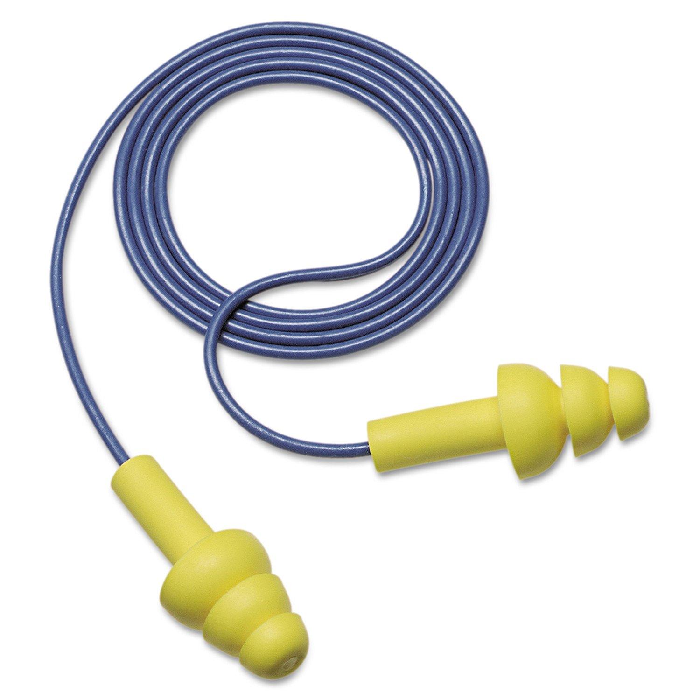 3M 340-4004 EAR Ultrafit Corded Earplugs, 100-Pair
