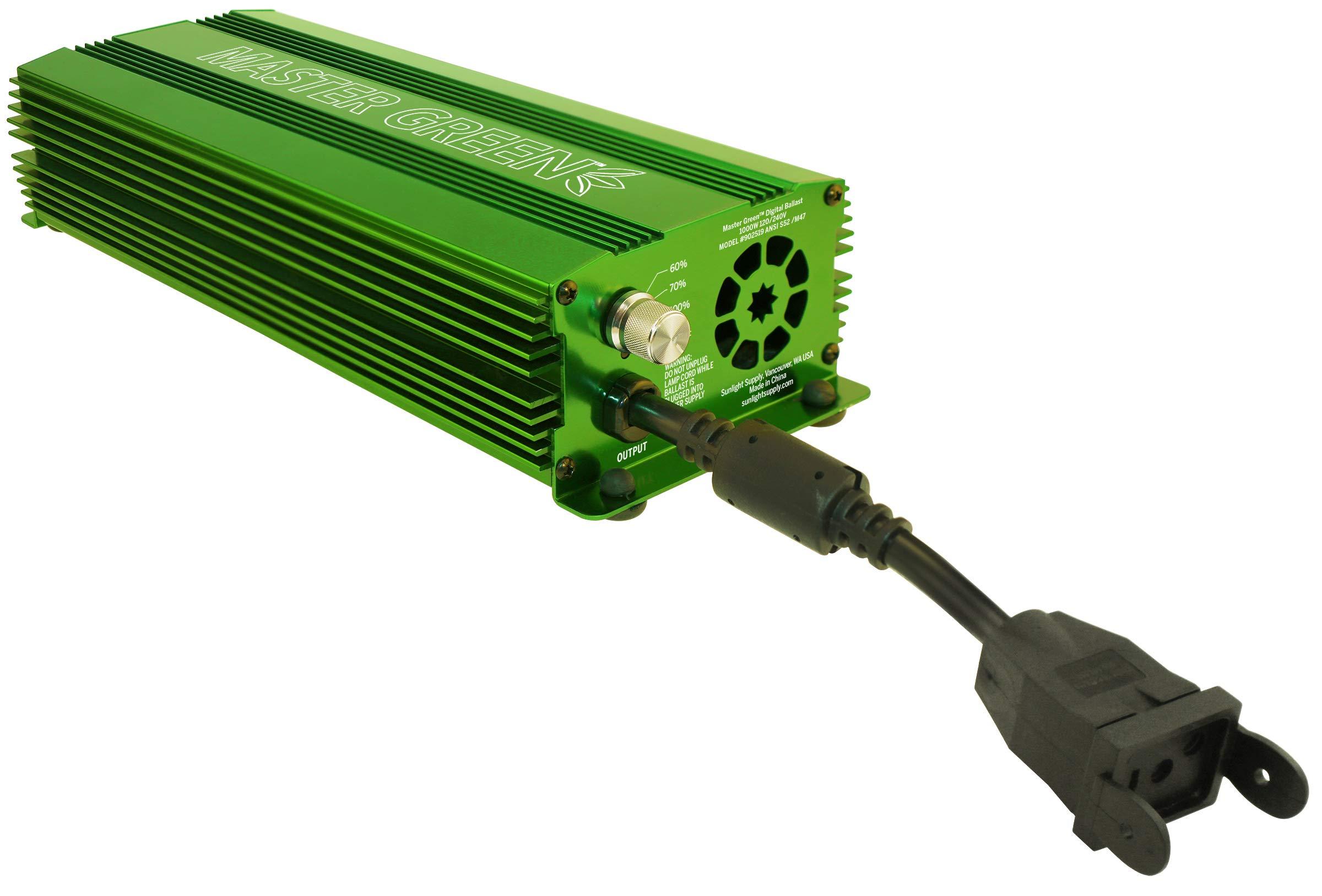 Master Green 902519 Grow Light Ballast, Green