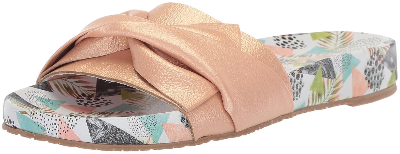 Women's Galera Printed Pool Bow Fashion Slide Sandal