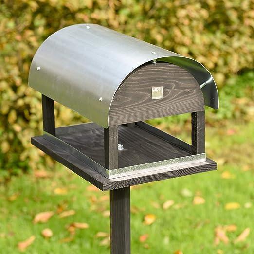 VOSS.garden Comedero en una danesa Única Diseño – Pajarera pájaro Station Comedero pájaros äuschchen Pajarera Comedero: Amazon.es: Jardín