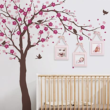 Cherry Blossom Tree Wall Decal - Ceiling Style - scheme A - by Simple Shapes  sc 1 st  Amazon.com & Amazon.com: Cherry Blossom Tree Wall Decal - Ceiling Style - scheme ...
