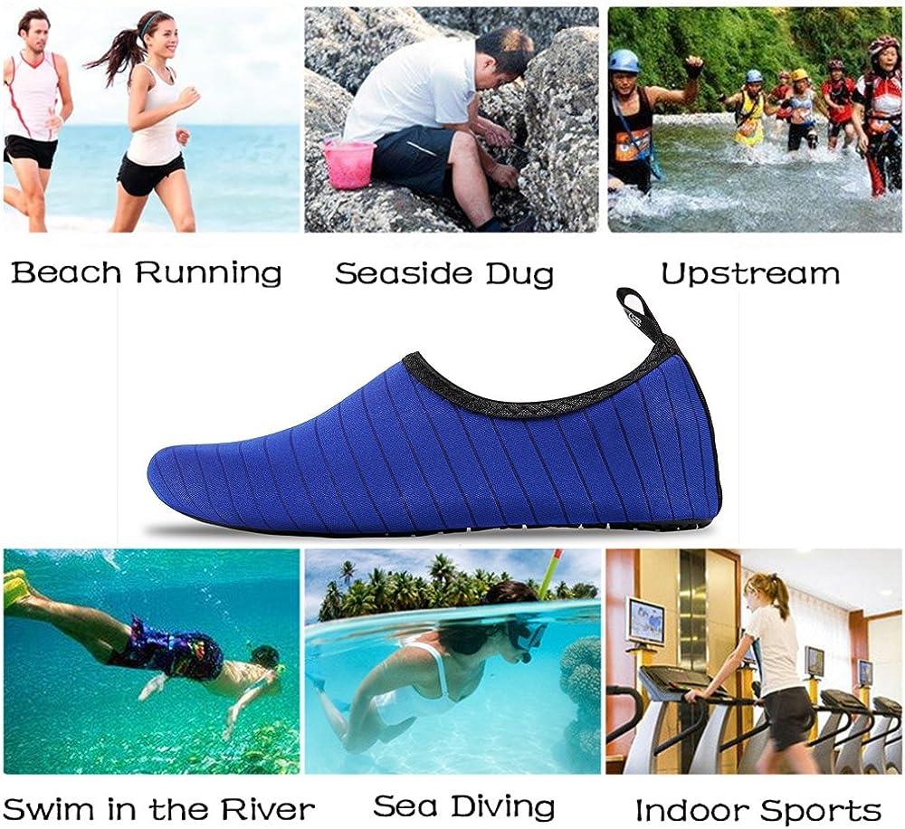 Donna Uomo Scarpe da Sport Acquatici Scarpe da Immersione Spiaggia Scarpe da Snorkeling Scarpe da Scoglio