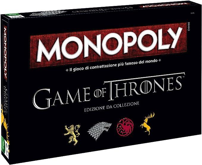 Monopoly Game of Thrones Colección, versión Italiana Winning Moves: Amazon.es: Juguetes y juegos