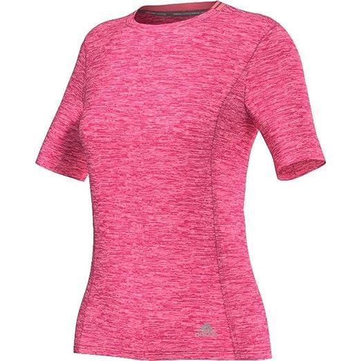adidas Supernova Women's Running T-Shirt - X Small - Pink