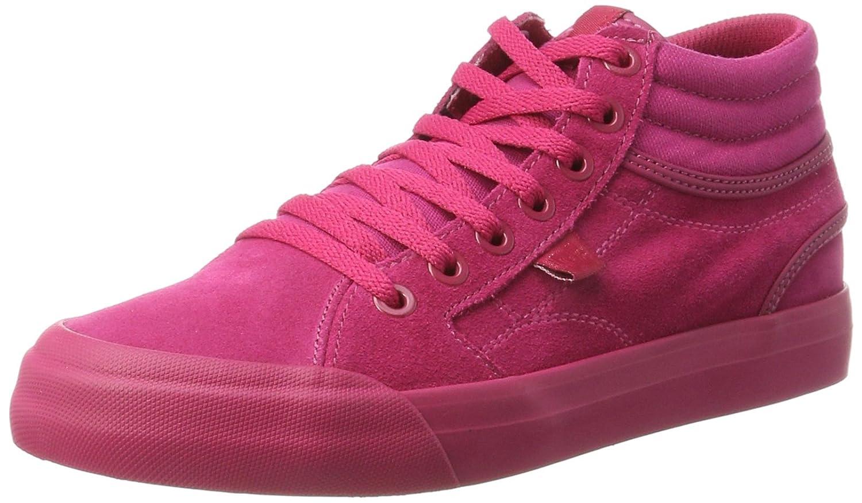 DC Shoes Evan Hi Se, Zapatillas para Mujer 36 EU|Rosa (Raspberry)