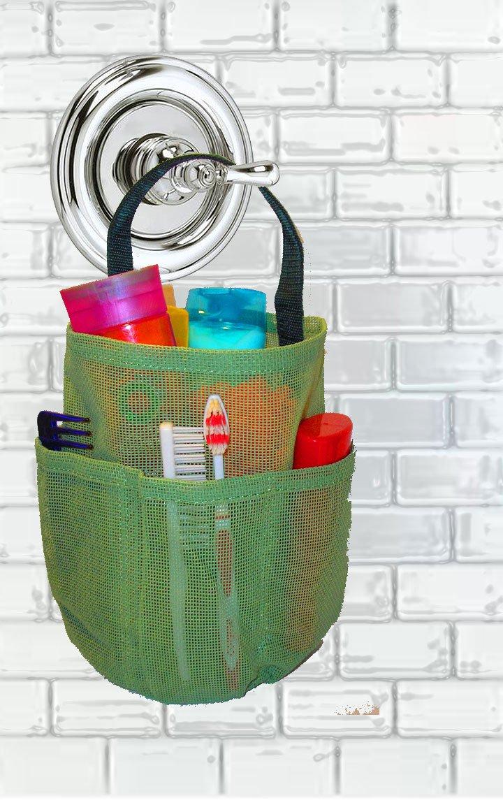 Saltwater Canvas, LLC Mesh Shower Bag – Sage Green – By The Original