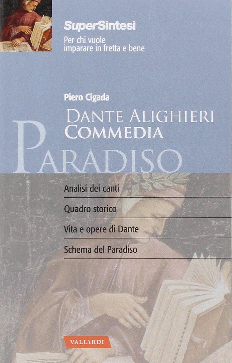 Dante Alighieri Commedia Paradiso Amazon Co Uk Piero