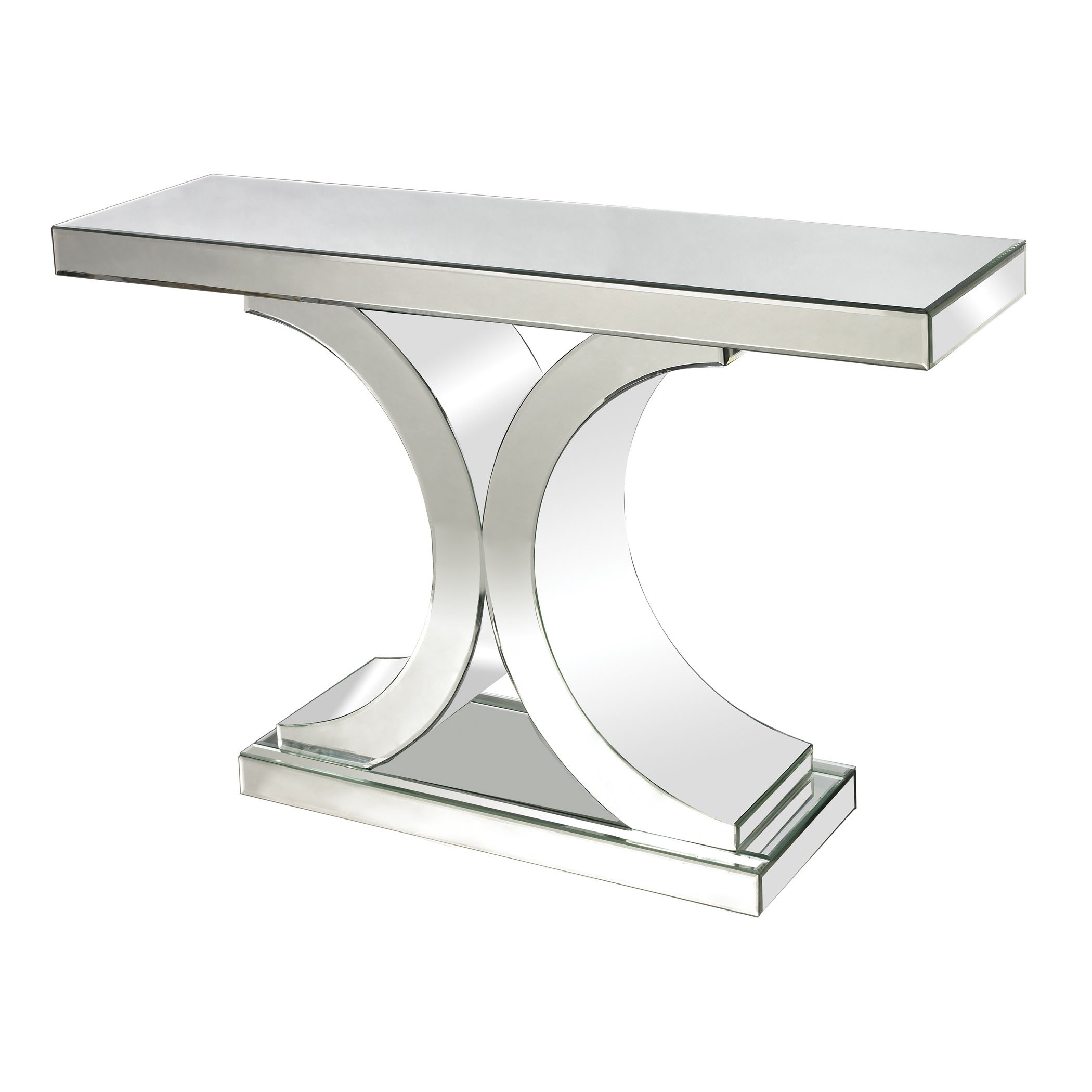 Dimond Home 114172 Mirrored Console Table, 46'' x 13'' x 30''