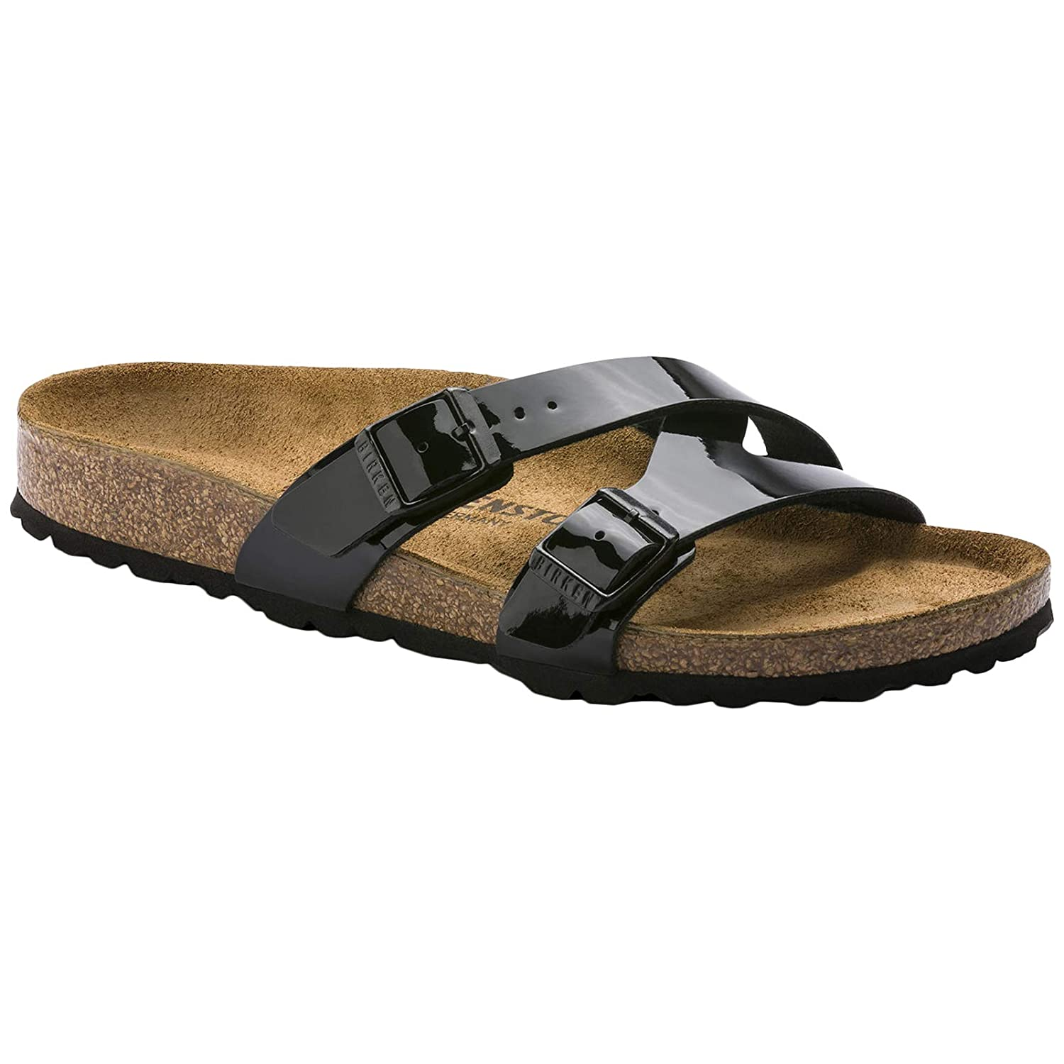618fa0a0ae9 Birkenstock Unisex Yao Balance Birko-Flor Black Sandals 5.5 UK  Amazon.co.uk   Shoes   Bags