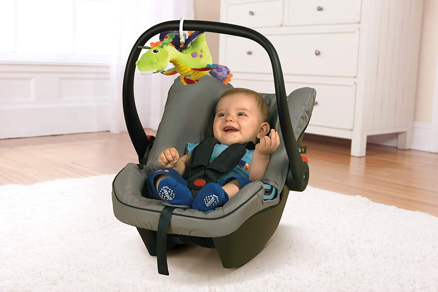 Clip On Pram and Pushchair Newborn Baby Toy Lamaze Freddie The Firefly Suitable from Birth