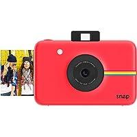 Polaroid Snap - Fotocamera Digitale a scatto istantaneo con Tecnologia di Stampa a Zero Inchiostro ZINK, Rosso