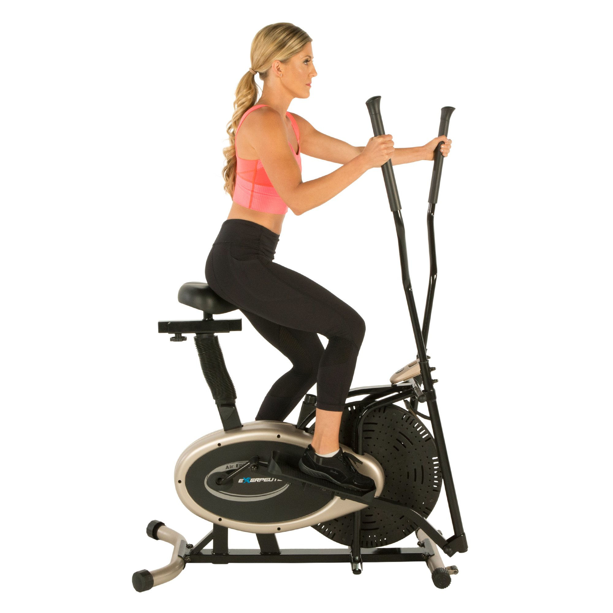 Exerpeutic Gold Elliptical and Exercise Bike Dual Trainer by Exerpeutic (Image #4)
