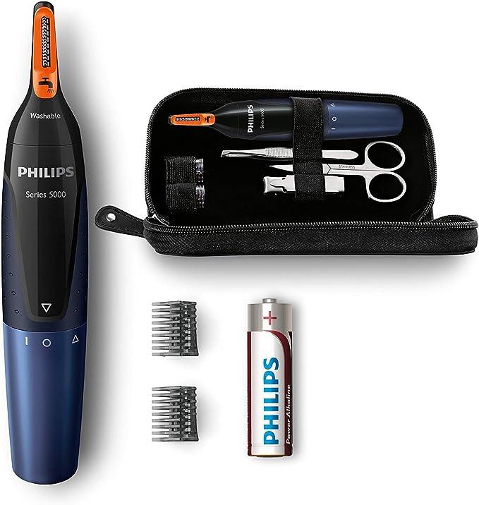 Philips NT5180/15 - Recortador de vello, nariz y orejas ...