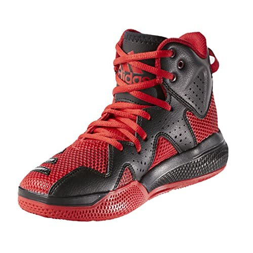 innovative design 25745 ce08b Zapatillas de Basketball adidas Basketball Mid Rojo J Amazon.es Zapatos y  complementos