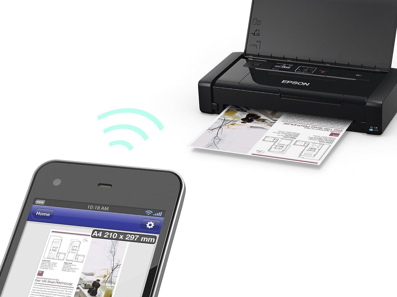 Epson WF100W, Impresora Color, Wifi, USB, 309 x 154 x 61 mm ...