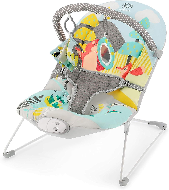Kinderkraft Hamaca Bebé MILYFUN, Plegable, Ligera, Transportable, Multicolor