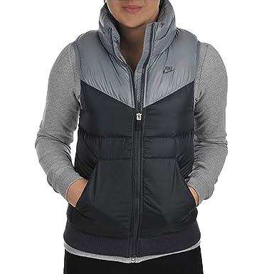 timeless design 83c13 d5055 Nike Damen Daunenweste Gepolstert, Grau