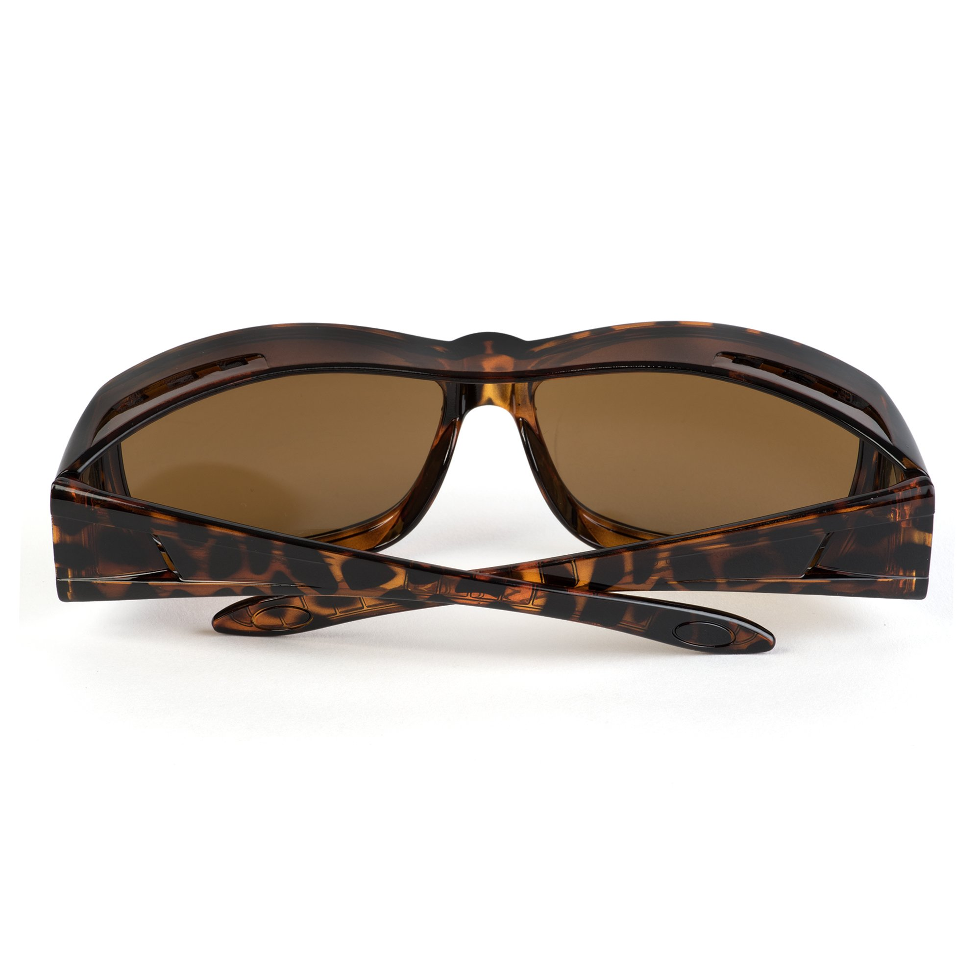 Over Glasses Sunglasses - Fitover Sunglasses with 100% UV Protection - By Pointed Designs (Leopard) by Pointed Designs (Image #6)