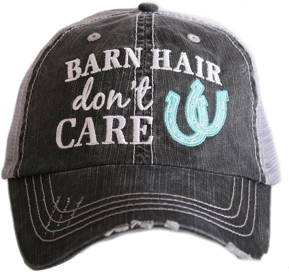Katydid Barn Hair Don't Care Women's Trucker Hat