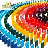 LIAN Juguetes para niños de Madera estándar de Competencia Dominoes para Adultos Regalo de la Boutique Bloques de Colores dominó Set 1000pcs
