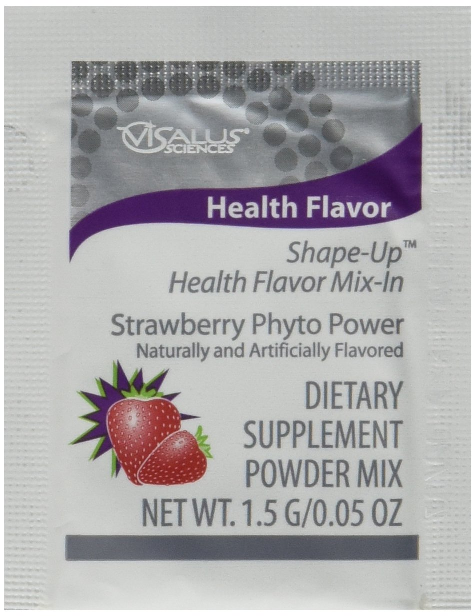 ViSalus Health Flavor Mix-In Strawberry (15 Packets)